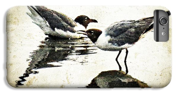 Morning Gulls - Seagull Art By Sharon Cummings IPhone 7 Plus Case by Sharon Cummings