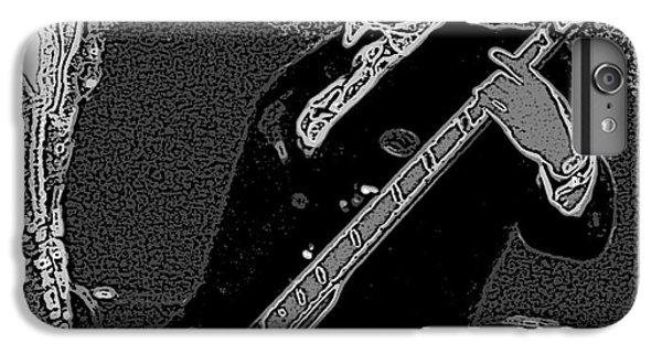 Bass Player Art Bw IPhone 7 Plus Case by Lesa Fine