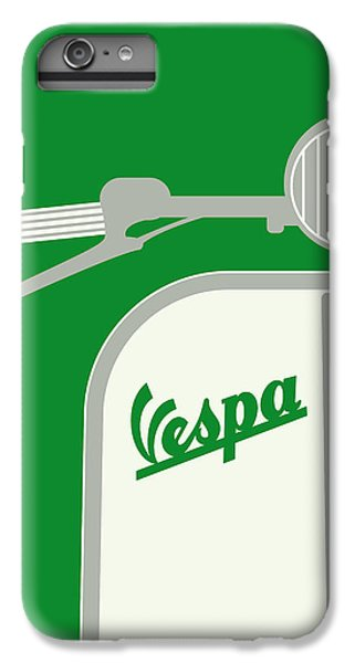 My Vespa - From Italy With Love - Green IPhone 7 Plus Case by Chungkong Art
