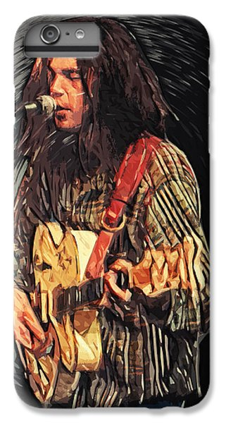 Neil Young IPhone 7 Plus Case by Taylan Soyturk