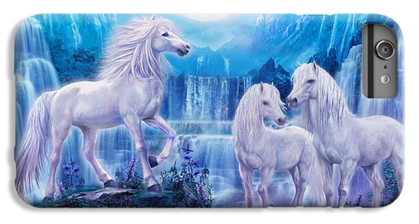 Night Horses IPhone 7 Plus Case by Jan Patrik Krasny