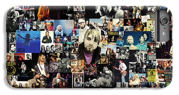 Nirvana Collage IPhone 7 Plus Case by Taylan Apukovska