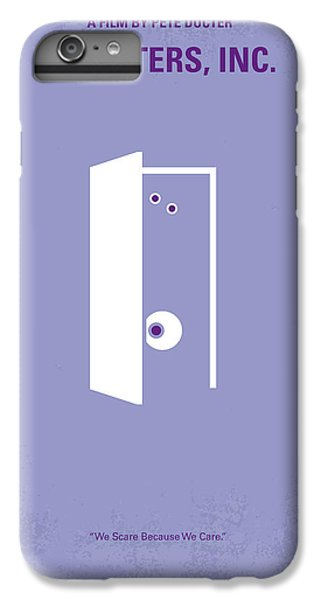No161 My Monster Inc Minimal Movie Poster IPhone 7 Plus Case by Chungkong Art