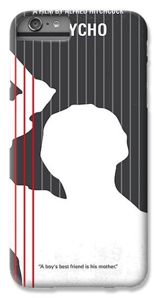 No185 My Psycho Minimal Movie Poster IPhone 7 Plus Case by Chungkong Art