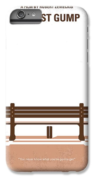 No193 My Forrest Gump Minimal Movie Poster IPhone 7 Plus Case by Chungkong Art