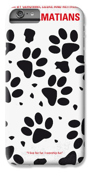 No229 My 101 Dalmatians Minimal Movie Poster IPhone 7 Plus Case by Chungkong Art