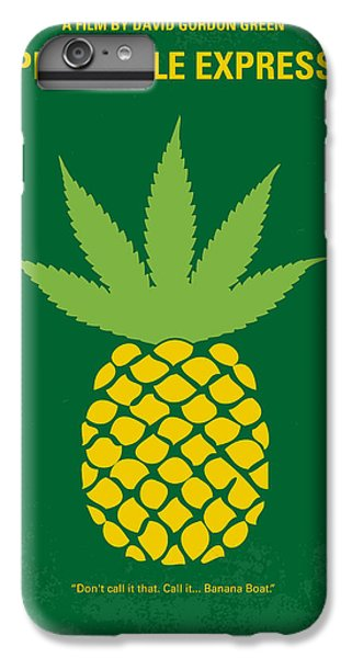 No264 My Pineapple Express Minimal Movie Poster IPhone 7 Plus Case by Chungkong Art