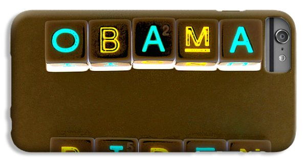 Obama Biden Words. IPhone 7 Plus Case by Oscar Williams