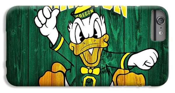 Oregon Ducks Barn Door IPhone 7 Plus Case by Dan Sproul