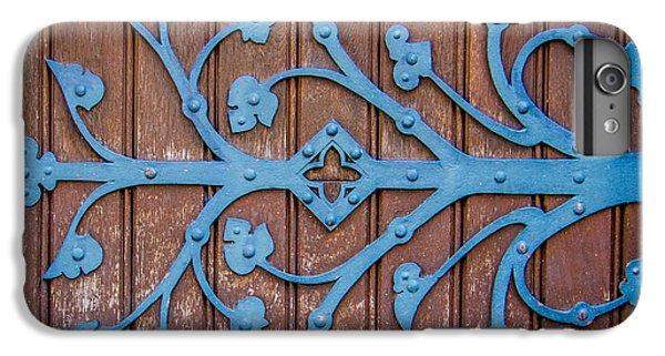 Ornate Church Door Hinge IPhone 7 Plus Case by Mr Doomits