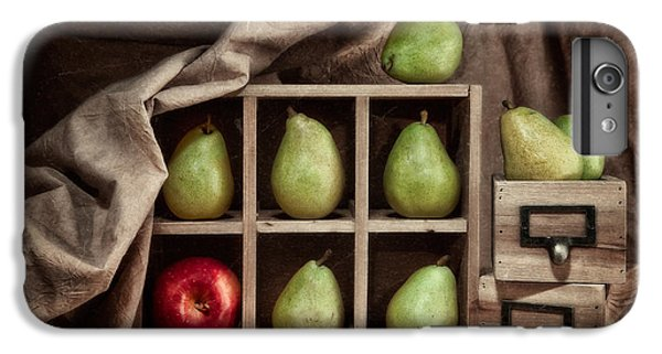 Pears On Display Still Life IPhone 7 Plus Case by Tom Mc Nemar