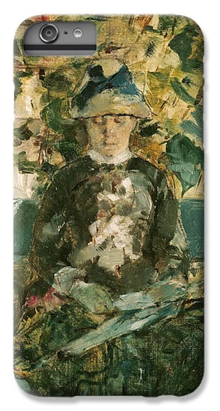 Portrait Of Adele Tapie De Celeyran IPhone 7 Plus Case by Henri de Toulouse-Lautrec