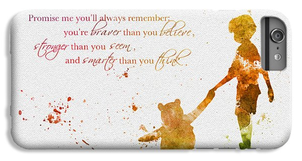 Promise Me You'll Always Remember IPhone 7 Plus Case by Rebecca Jenkins
