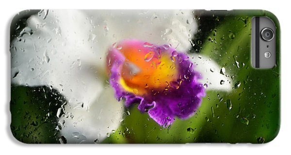 Rainy Day Orchid - Botanical Art By Sharon Cummings IPhone 7 Plus Case by Sharon Cummings