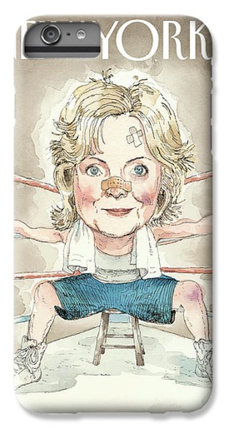 Ready For A Fight IPhone 7 Plus Case by Barry Blitt