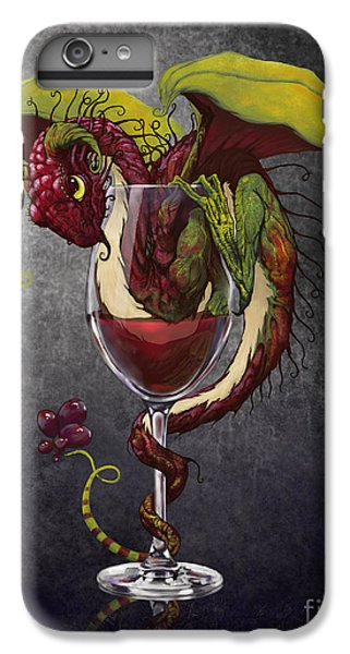 Red Wine Dragon IPhone 7 Plus Case by Stanley Morrison
