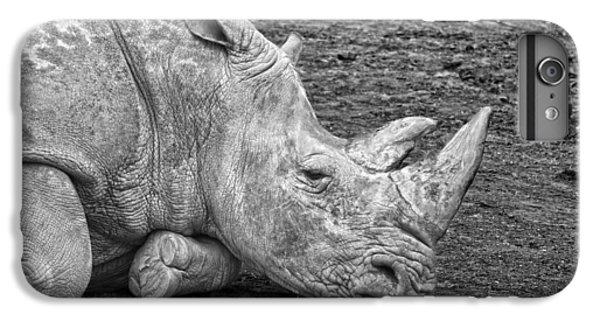 Rhinoceros IPhone 7 Plus Case by Nancy Aurand-Humpf