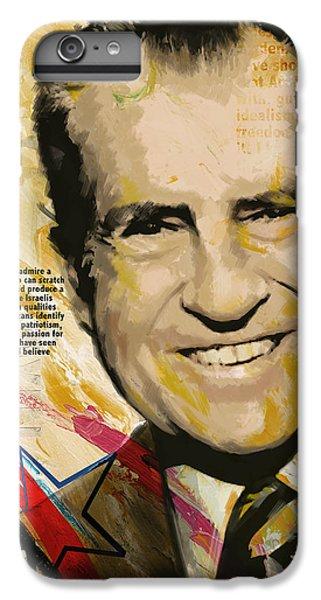 Richard Nixon IPhone 7 Plus Case by Corporate Art Task Force