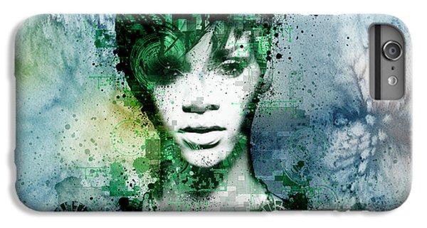 Rihanna 4 IPhone 7 Plus Case by Bekim Art