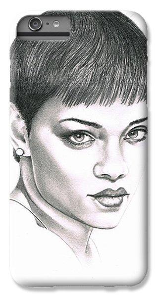 Rihanna IPhone 7 Plus Case by Murphy Elliott