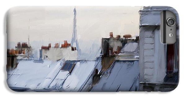 Rooftops Of Paris IPhone 7 Plus Case by H James Hoff