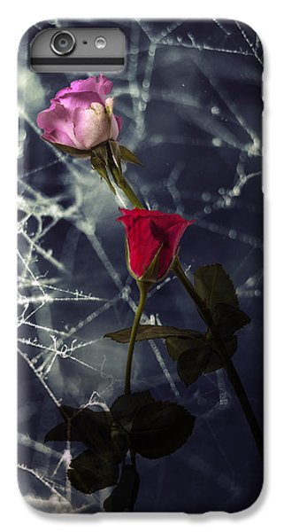 Roses With Coweb IPhone 7 Plus Case by Joana Kruse