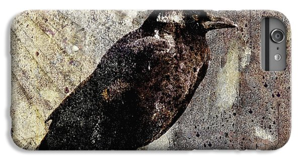 Same Crow Different Day IPhone 7 Plus Case by Carol Leigh