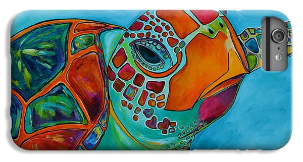 Seaglass Sea Turtle IPhone 7 Plus Case by Patti Schermerhorn