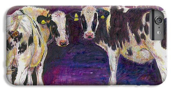 Sheltering Cows IPhone 7 Plus Case by Helen White