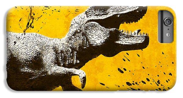 Stencil Trex IPhone 7 Plus Case by Pixel Chimp