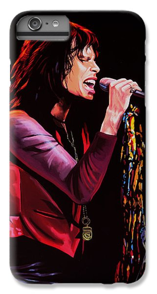 Steven Tyler In Aerosmith IPhone 7 Plus Case by Paul Meijering