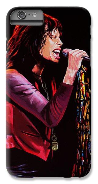Steven Tyler In Aerosmith IPhone 7 Plus Case by Paul Meijering