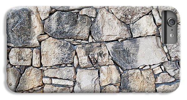 Stone Wall Texture IPhone 7 Plus Case by Antony McAulay