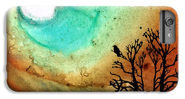 Summer Moon - Landscape Art By Sharon Cummings IPhone 7 Plus Case by Sharon Cummings