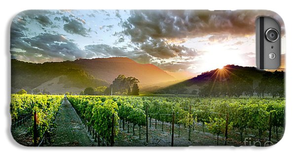 Wine Country IPhone 7 Plus Case by Jon Neidert