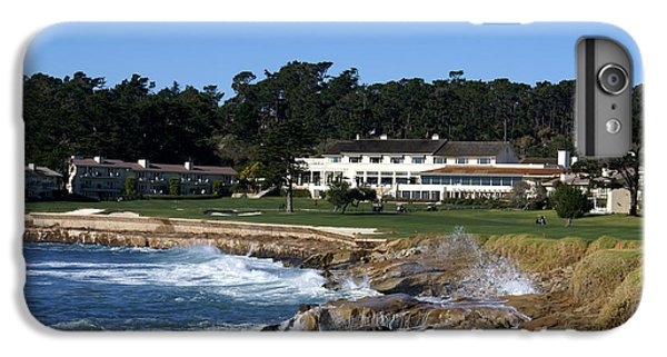 The 18th At Pebble Beach IPhone 7 Plus Case by Barbara Snyder
