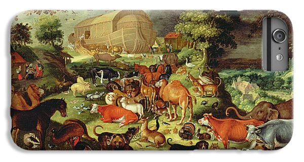 The Animals Entering The Ark IPhone 7 Plus Case by Jacob II Savery