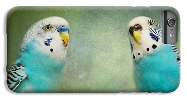 The Budgie Collection - Budgie Pair IPhone 7 Plus Case by Jai Johnson