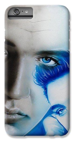 Elvis Presley - ' The King ' IPhone 7 Plus Case by Christian Chapman Art