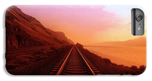The Long Walk To No Where  IPhone 7 Plus Case by Jeff Swan
