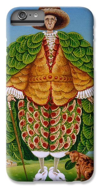 The New Vestments Ivor Cutler As Character In Edward Lear Poem, 1994 Oils And Tempera On Panel IPhone 7 Plus Case by Frances Broomfield