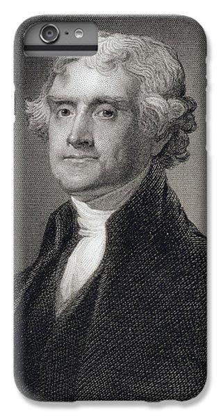 Thomas Jefferson IPhone 7 Plus Case by Gilbert Stuart