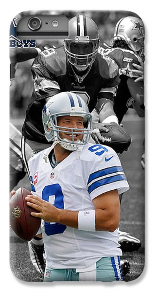 Tony Romo Cowboys IPhone 7 Plus Case by Joe Hamilton