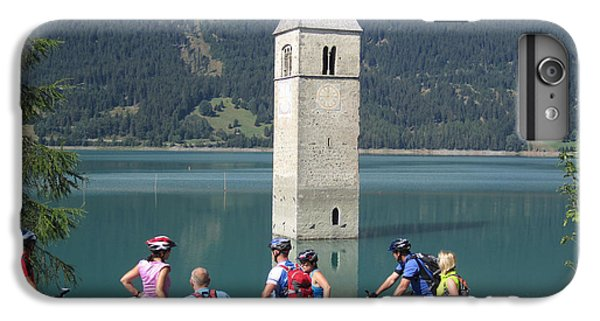 IPhone 7 Plus Case featuring the photograph Tower In The Lake by Travel Pics
