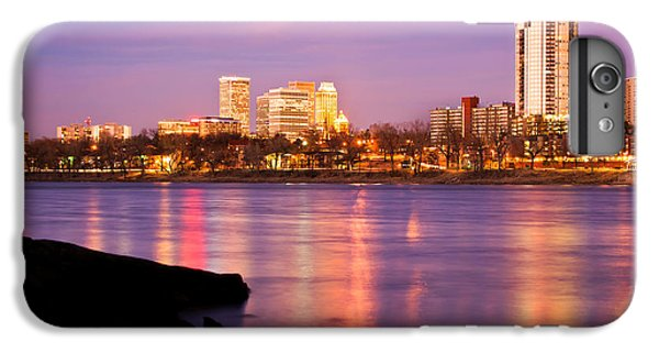Tulsa Oklahoma - University Tower View IPhone 7 Plus Case by Gregory Ballos