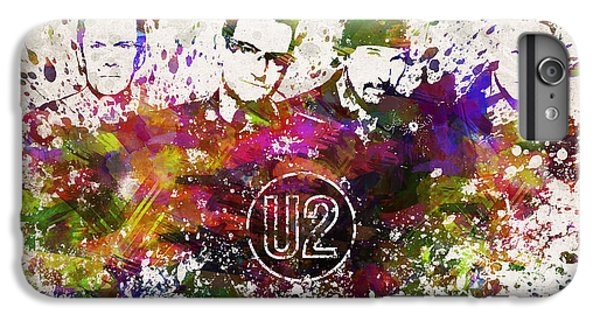 U2 In Color IPhone 7 Plus Case by Aged Pixel