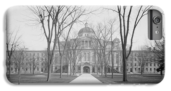 University Hall, University Of Michigan, C.1905 Bw Photo IPhone 7 Plus Case by Detroit Publishing Co.