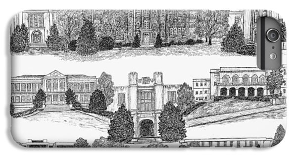 University Of Arkansas Fayetteville IPhone 7 Plus Case by Liz  Bryant