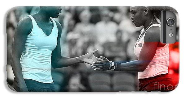 Venus Williams And Serena Williams IPhone 7 Plus Case by Marvin Blaine