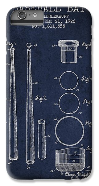 Vintage Baseball Bat Patent From 1926 IPhone 7 Plus Case by Aged Pixel